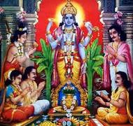 सत्यनारायण व्रत कथा (हिंदी में ) पांचवां अध्याय- 5